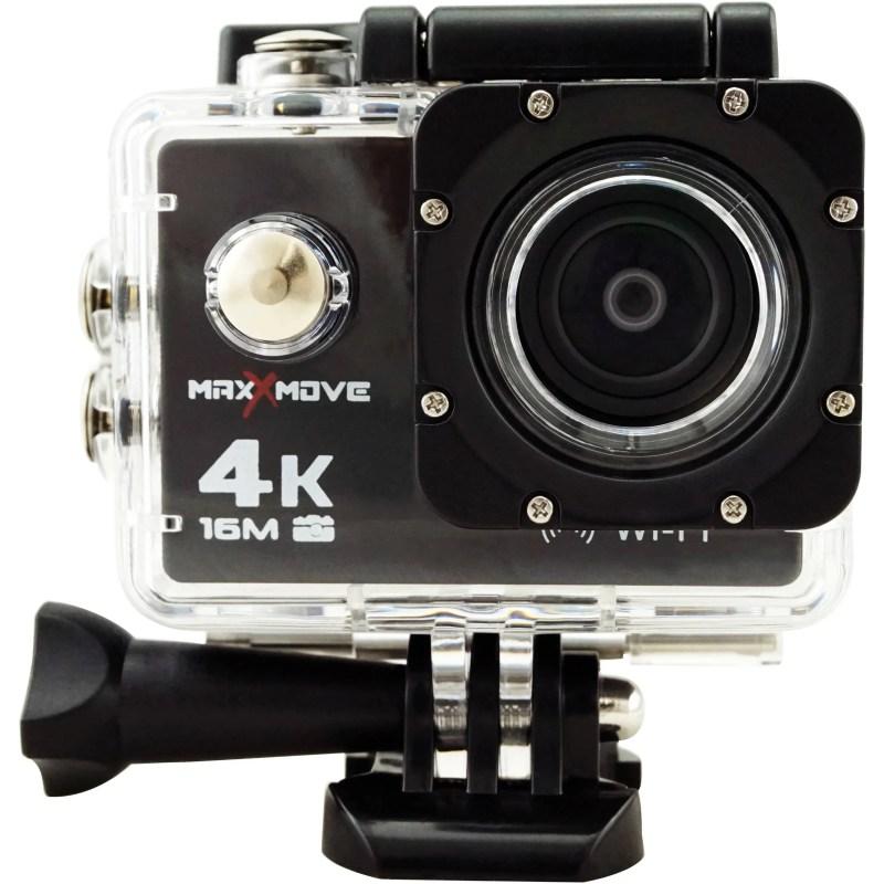 MaxxMove Rize H4 4K Action Camera (Black)
