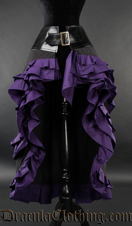 Purple Vex Skirt