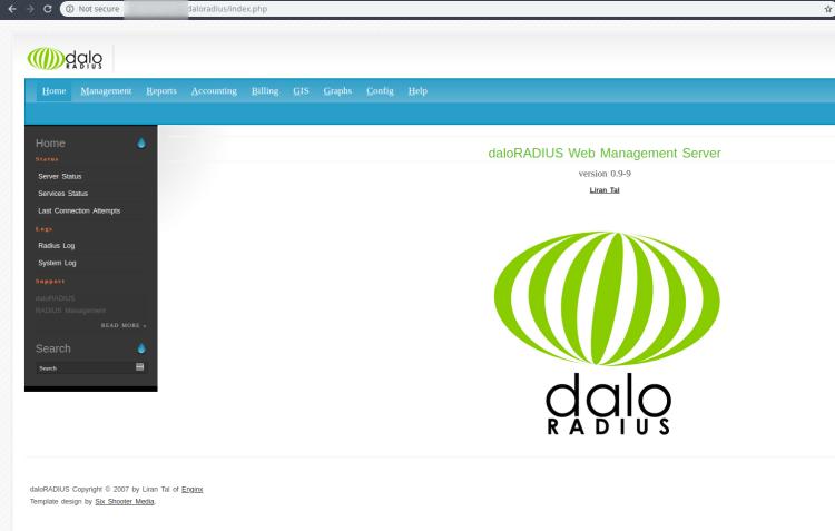 daloradius_debian_dashboard