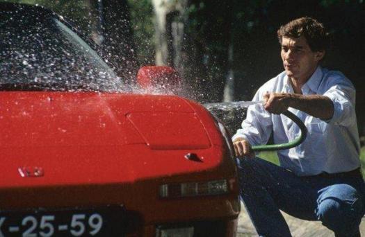 Senna - Honda NSX - racing is in my blood