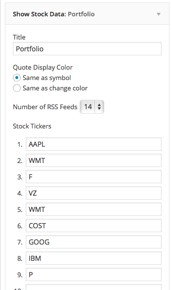show-stock-quotes-widget-settings
