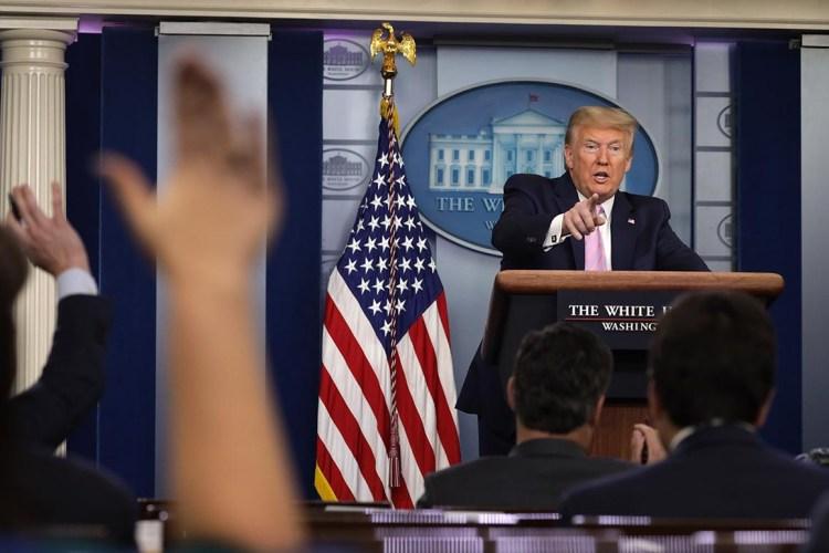 Cory Gardner Trump individualizes the coronavirus– through a political lens