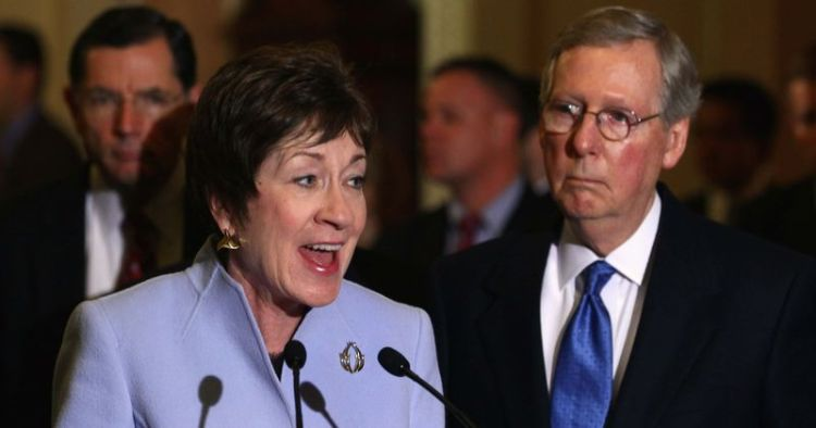 Cory Gardner Mitch McConnell is pouring dark money into Maine to save Susan Collins from electoral doom