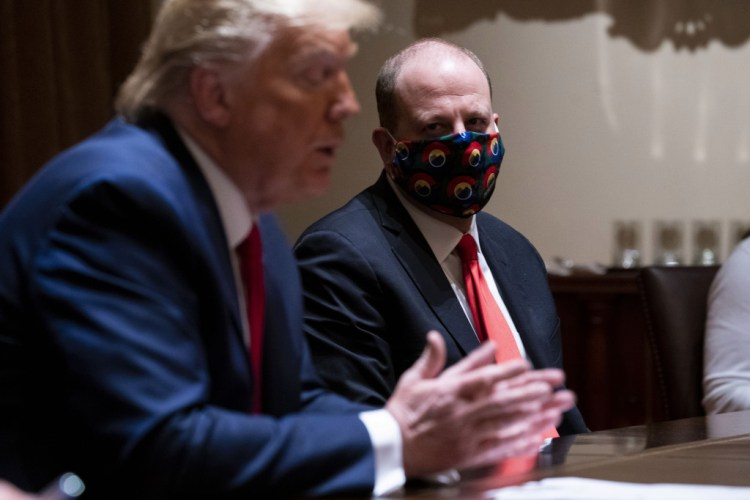 Cory Gardner President Trump praises Colorado's coronavirus response in meeting with Gov. Jared Polis