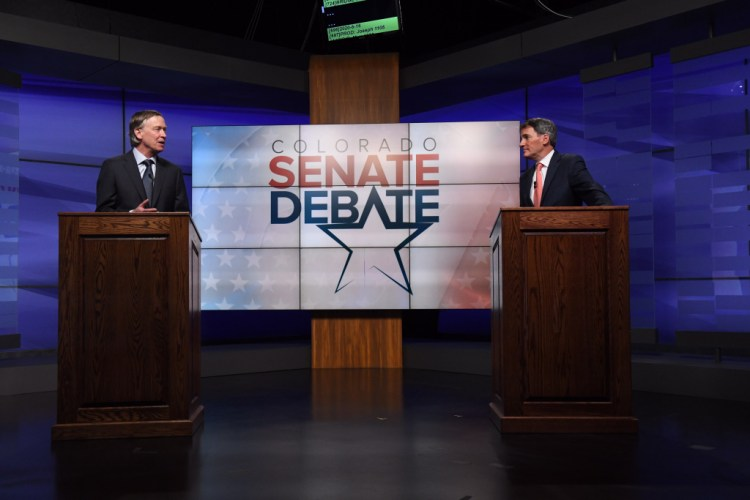 Andrew Romanoff Hickenlooper, Romanoff say they haven't done enough for racial justice in final Democratic Senate debate