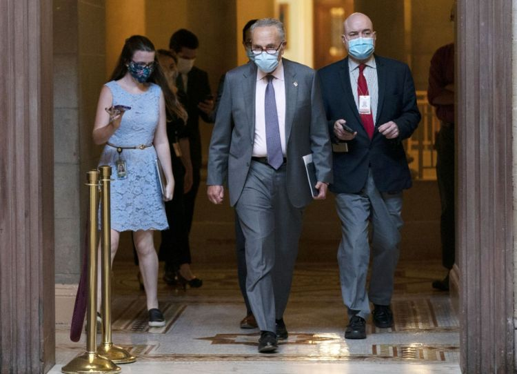 Cory Gardner Capitol negotiators still stuck, still trying on virus aid