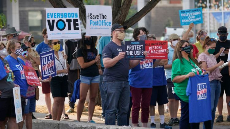 Cory Gardner Postal chief returns to Congress facing uproar over delays