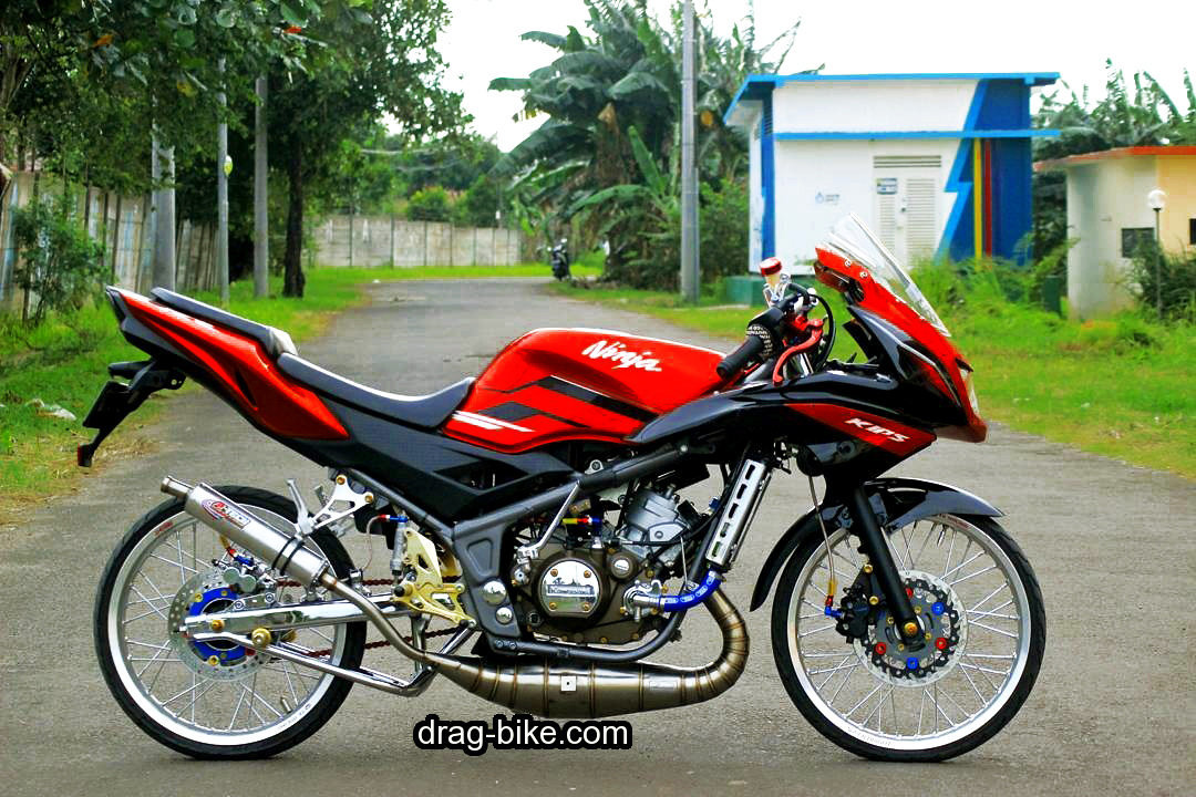 Lihat 100 Foto Gambar Modifikasi Ninja Drag Bike Racing