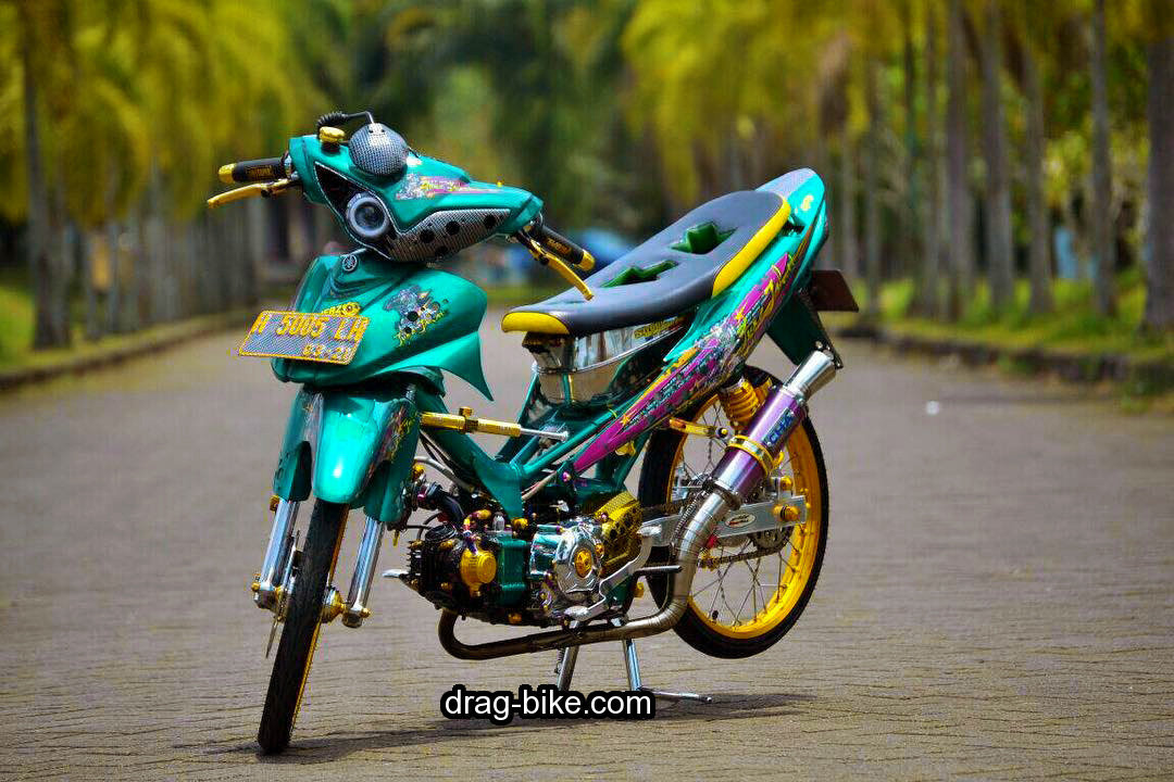 Gambar Motor Drag Bike Jupiter Z  Onvacations Image