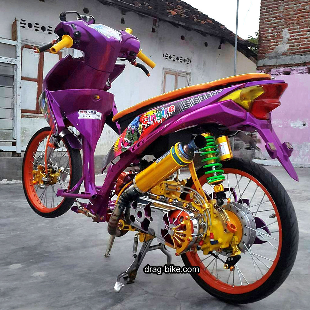 Foto Modifikasi Motor Beat Lama  Modifikasi Yamah NMAX
