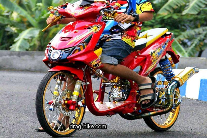 Modifikasi Motor Beat Merah Modifikasi Honda Beat 2009