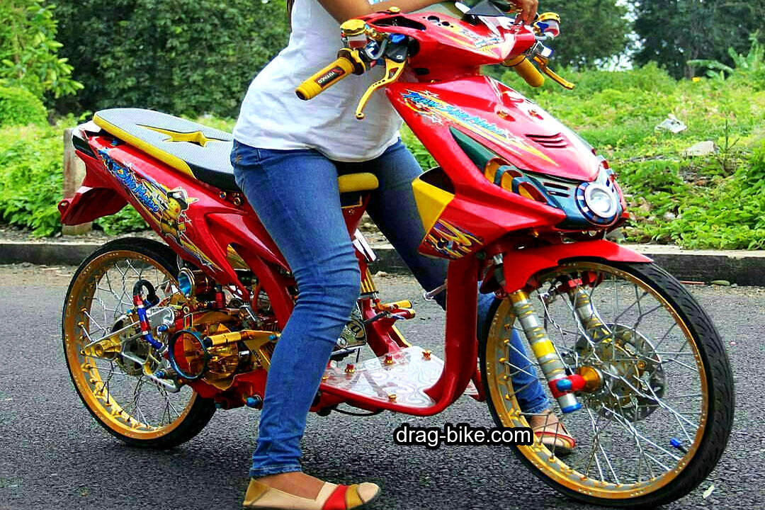 50 Foto Gambar Modifikasi BEAT Kontes Street Racing Jari