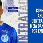 Confiança anuncia contratação do meia Daniel Penha por empréstimo