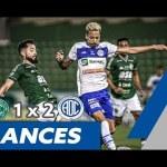 Vídeo | Guarani 1 x 2 Confiança | MELHORES MOMENTOS, GOLS e COLETIVA Técnico Luizinho Lopes | Série B