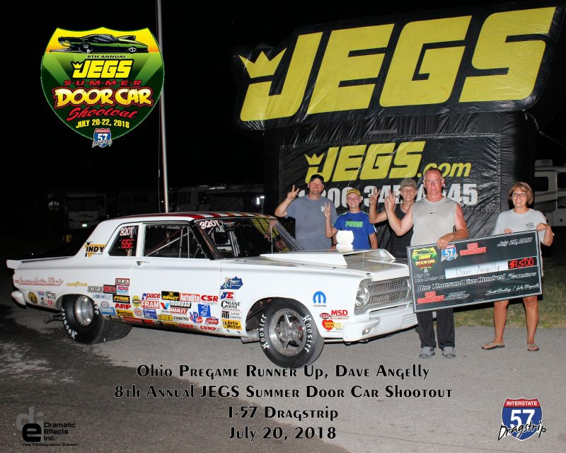 2018 jegs summer door car shootout ohio pregame runner up