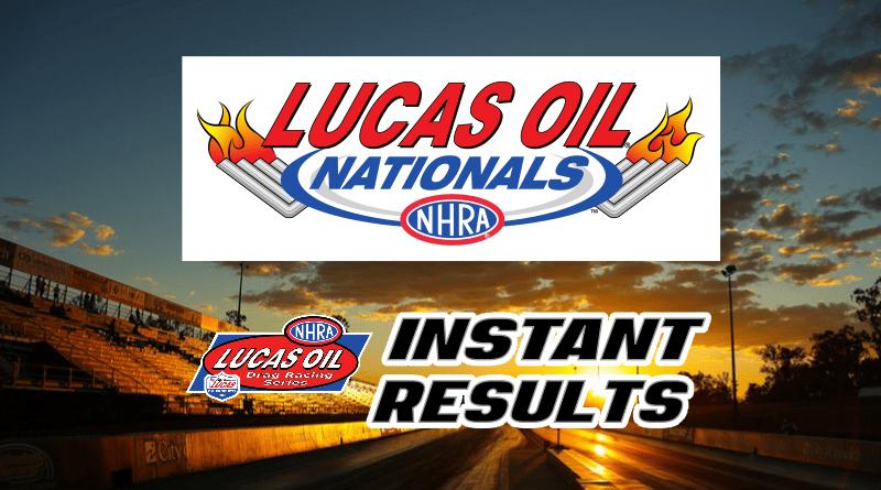 2018 Lucas Oil NHRA Nationals Sportsman Results