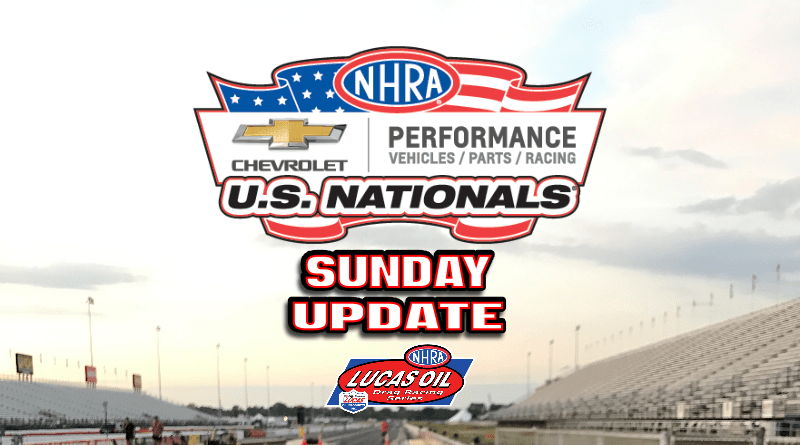 2018 NHRA US Nationals Sportsman Results - Sunday