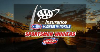 2018 AAA Insurance NHRA Midwest Nationals Sportsman Winners