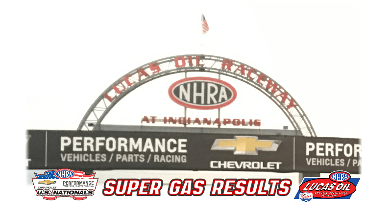 2018 Us Nationals Super Gas Results