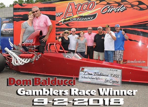 Dom Balducci Gamblers Winner 9-2-18