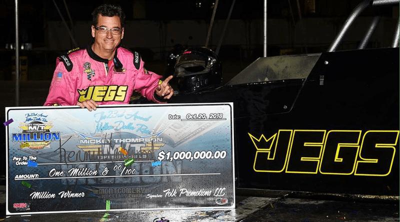 2018 Million Dollar Drag Race Winner Kenny Underwood