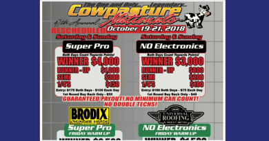 Ardmore Dragway Cowpasture Nationals Oct 19-21