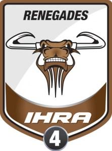 IHRA Division 4 Renegades Logo