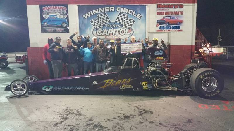Capitol raceway John Douglas Jr 10k Top ET Winner 10132018