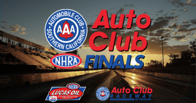 2018 Auto Club NHRA Finals Lucas Oil Sportsman Results