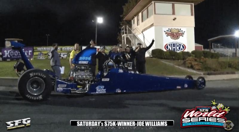 2018 SFG World Series of Bracket Racing Saturday 75k winner joe williams