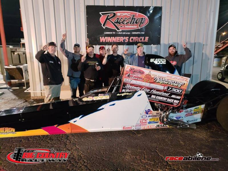 Chad Broom Saturday Super Pro Winner Big Country Raceway 11.24.18