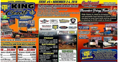 Gulfport Dragway King of the Coast Nov 2-4