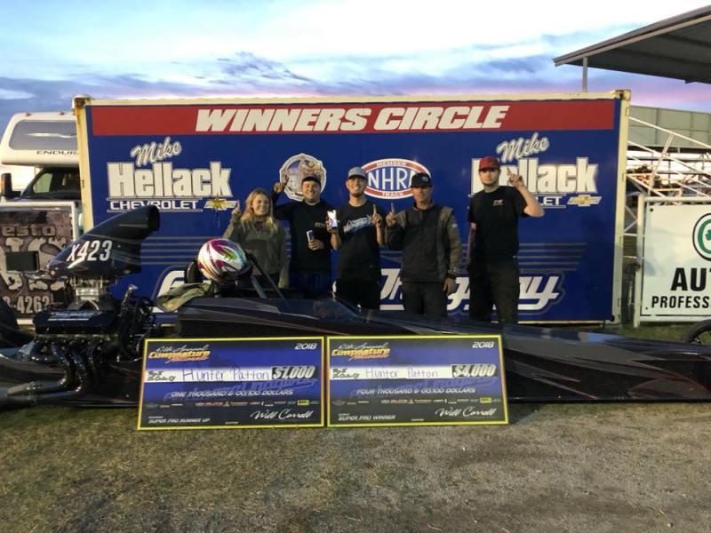 Hunter Patton Winner 2018 Cowpasture Nationals