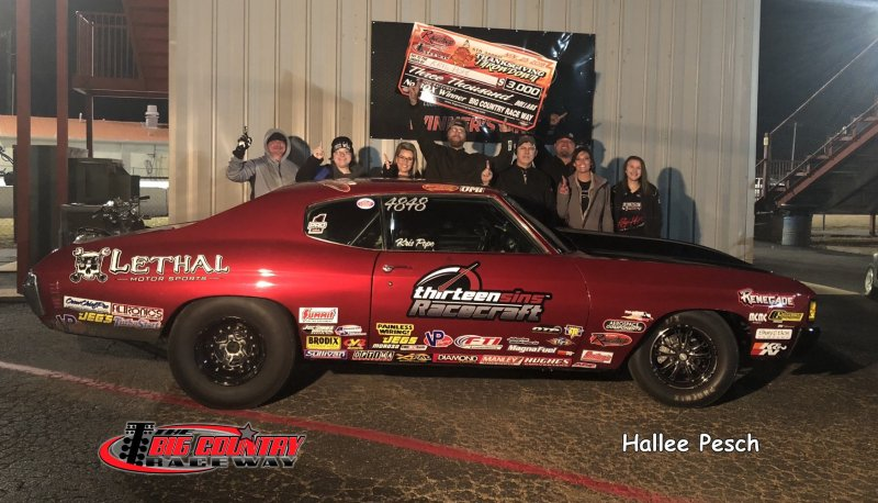 Kris Pope No Box Friday Winner Big Country Raceway 11.23.18