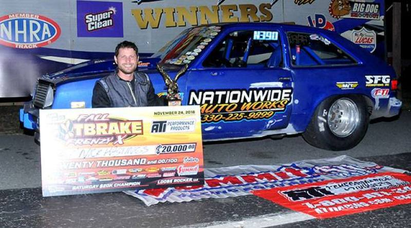 Nick Hastings 20k winner at 2018 loose rocker fall footbrake frenzy