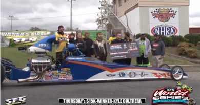 2018 SFG World Series of Bracket Racing Thursday SFG Winner Kyle Cultrera