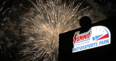 Summit Motorsports Park Fireworks Image