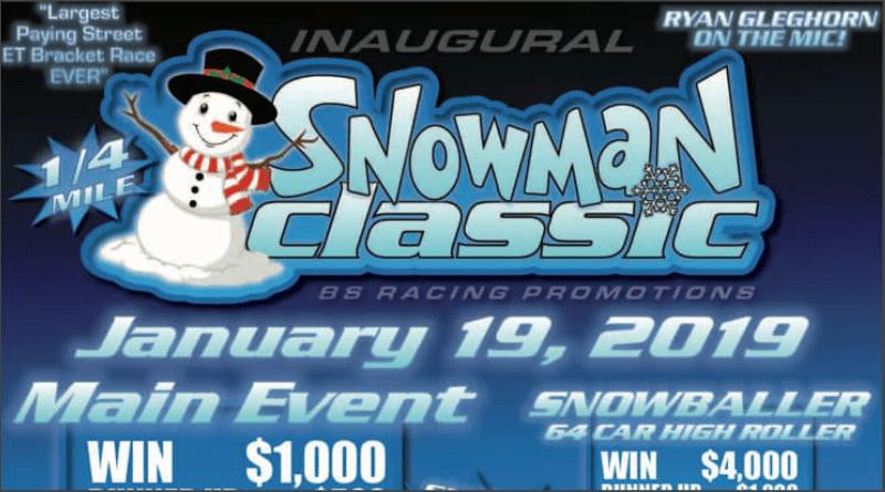 Snowman Classic Street ET Bracket Race Texas Motorplex