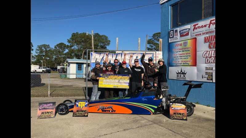 Kholten Fuller KOC jr dragster winner 012719