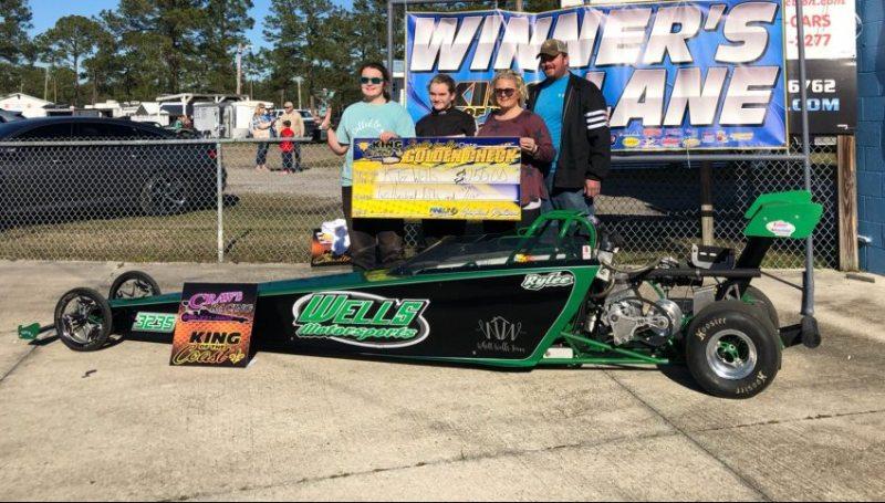 Rylee Wells KOC jr dragster winner 012619
