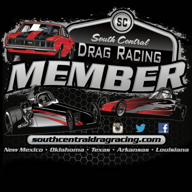 South Central Drag Racing Member Logo