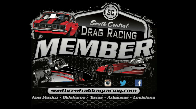 South Central Drag Racing Members Logo