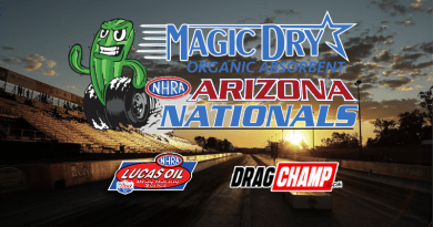 2019 Magic Dry NHRA Arizona Nationals Sportsman Race Results