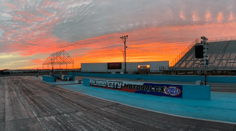Alamo City Motorplex sunset photo