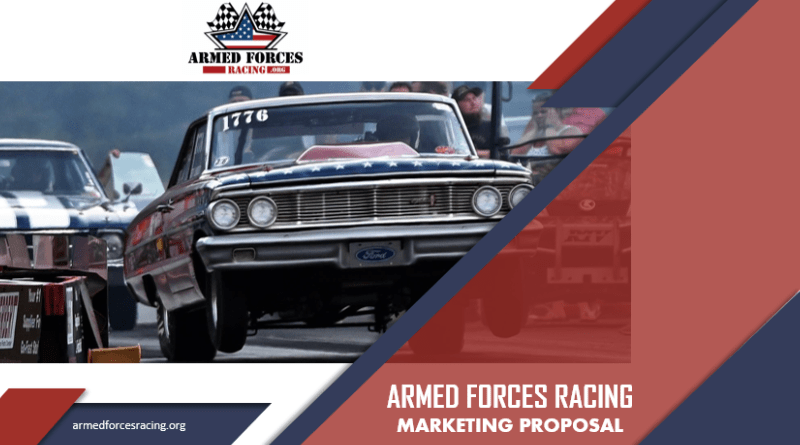 Armed Forces Racing Marketing Image