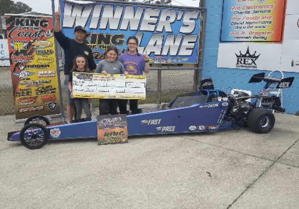 Maddie Chesne KOC jr dragster 10-12 winner 021619