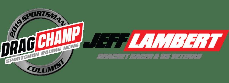 Jeff Lambert DragChamp Sponsorship Blog