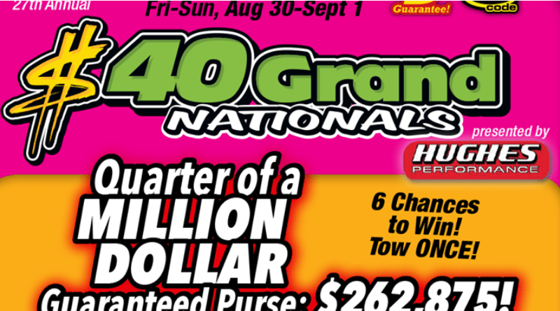 2019 40 Grand Nationals Summit Motorsports Park Flyer