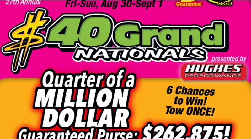 2019 40 Grand Nationals Summit Motorsports Park Flyer