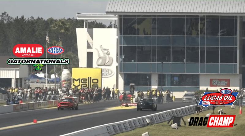 2019 NHRA Gatornationals Sportsman Race Results Friday